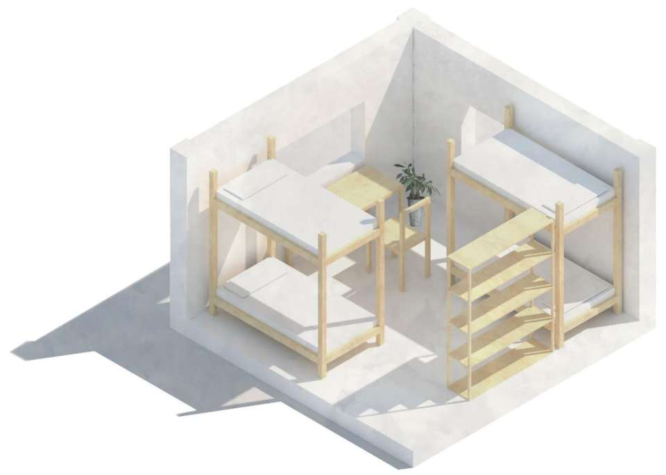 3D sketch of one room